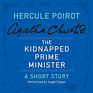 The Kidnapped Prime Minister audiobook cover art