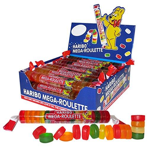 Haribo Mega Roulette Caramelos de Goma - 1080 gr