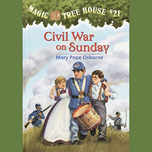 Magic Tree House, Book 21 audiobook cover art