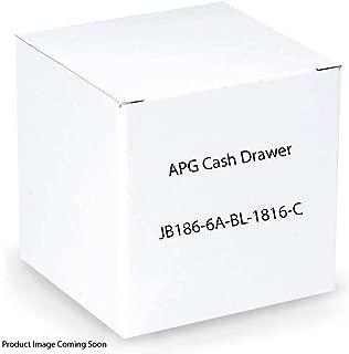 APG Cash Drawer Heavy Duty: Series 4000: 1816 Model (Part#: JB186-6A-BL-1816-C ) - NEW