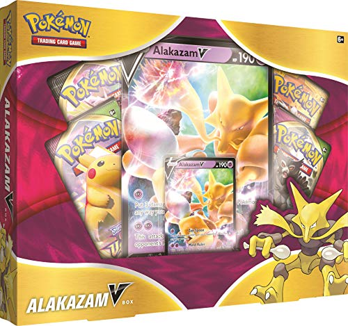 PoKéMoN 820650807480 Pokemon TCG: Alakazam V Box