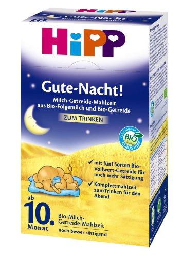 Gute-Nacht! Milch-Getreide-Mahlzeit Bio, 4er Pack (4 x 500 g Packung) - Bio