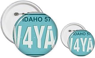 Kit de badges américains pour plaque d'immatriculation de voiture