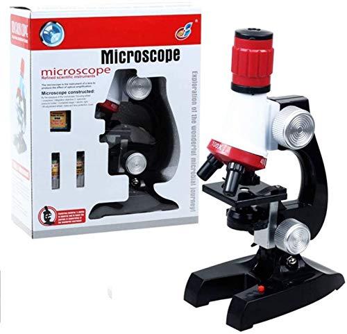 Regalos para niños Juego de microscopio para niños 100X-40