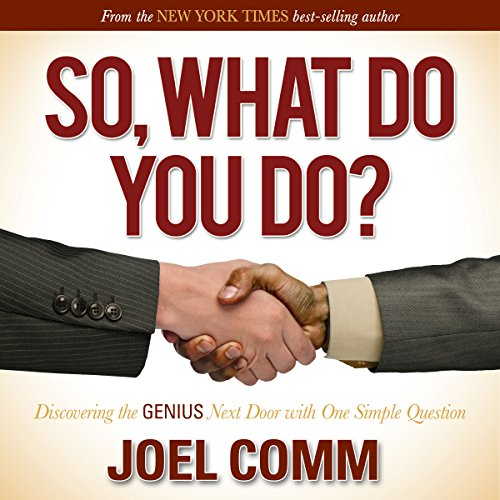 So What Do You Do cover art