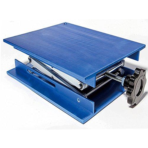 OESS Lift Table Aluminium Oxide Lab Stand Lifter Scientific Scissor Lifting Jack Platform 8''X 8''