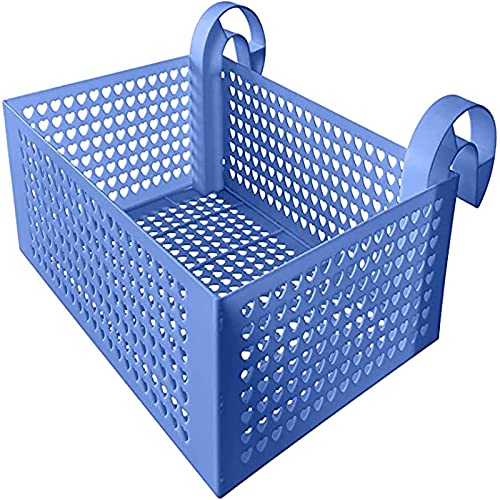 Cesta de almacenamiento para piscina al aire libre, cesta de almacenamiento para colgar en la piscina, cesta para colgar bebidas, soporte para tus gafas flotantes