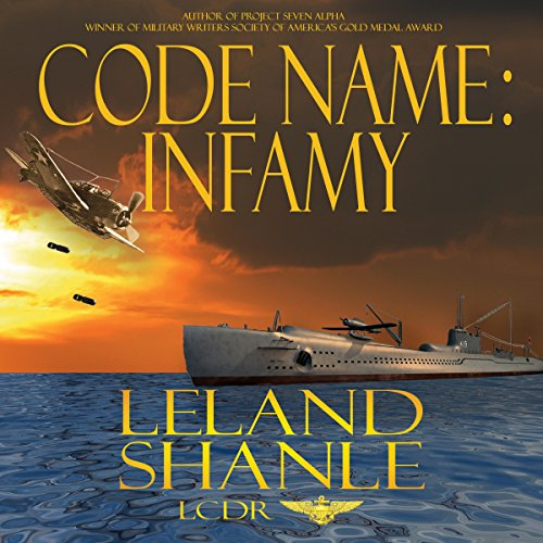 Code Name: Infamy audiobook cover art