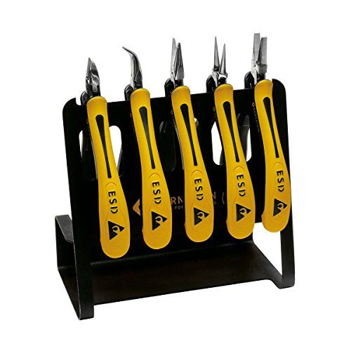 Bernstein Werkzeug GmbH 3-650 V CLASSICline Zangen-Set, 5-teilig aufgereiht auf ESD Werkzeughalter VARIO Art-Nr. 5-090-0