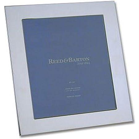 Amazon Com Reed Barton Wide Border Sterling 8 X 10 Frame 2 55 Lb Metallic Luxury Frames