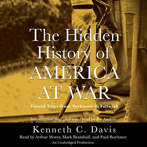The Hidden History of America at War audiobook cover art
