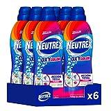 Neutrex oxy color quitamanchas sin lejía, producto para el hogar 840 ml, pack de 6, total 5. 040ml
