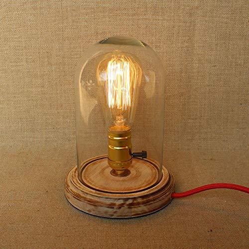 Lampara De Pared Extensible Dormitorio Estudio Madera Arte Mesita De Noche Lámpara De Mesa Decorativa Con Fuente De Luz Original