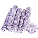 Envoltorio para cupcakes Taza antiadherente para tartas 3200PCS Premium para el día de San Valentín para bodas