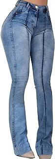 Vaqueros Mujer Pantalones Acampanados Cintura Alta Jeans De Pierna Ancha