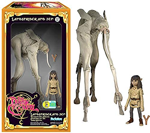 SDCC 2016 Funko ReAction Dark Crystal Landstrider and Jen Exclusive Action Figure Set by FunKo