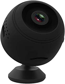 Mopoq Small Wireless Camera HD Night Vision Can Be Connected To Mobile Phone Remote 1080p Home Network WiFi Monitor (Color...