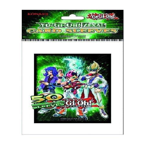 Yu-Gi-Oh! 11895 - Bustine protettive per Carte ZEXAL Konami (50 pz)