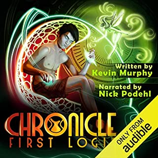 First Login audiobook cover art