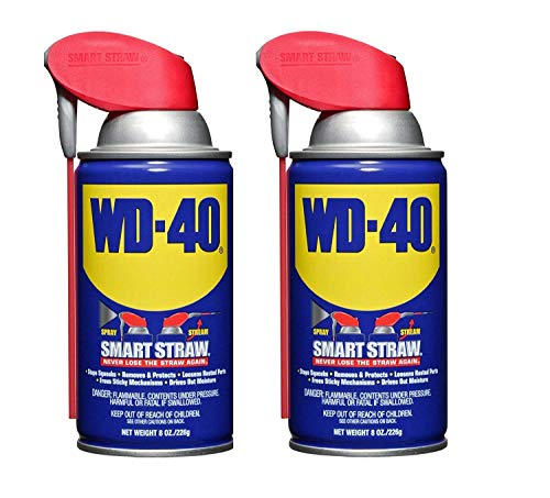 WD-40 110057 Multi-Use Product Spray with Smart Straw, 8 oz....