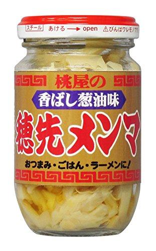 桃屋 香ばし葱油味 穂先メンマ 115g×4本