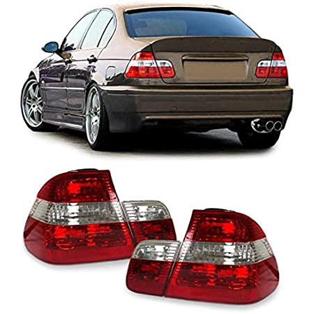 Carparts Online 11752 Led Rückleuchten Rot Klar Facelift Optik Auto