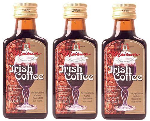 Meisner - Irish Coffee-Likör 31% vol - 3x0,04l