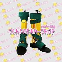 【サイズ選択可】女性22.5CMコスプレ靴 ブーツ20784拡散性ミリオンアーサーアーサー 魔法の派