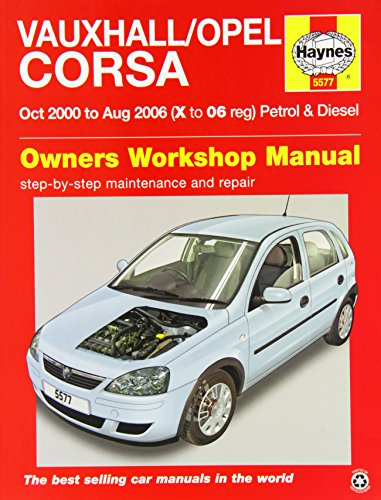 Vauxhall/Opel Corsa Service and Repair Manual: 2000-2006 (Haynes Service and Repair Manuals)