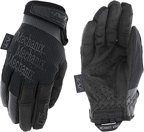 Mechanix Women's Specialty 0.5mm Covert Black Gloves, Black, Medium, MSD-55-520