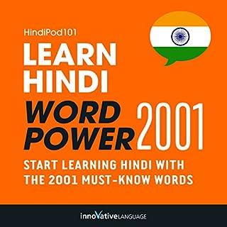 Learn Hindi - Word Power 2001 cover art
