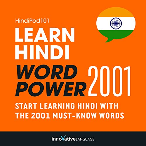 Learn Hindi - Word Power 2001 audiobook cover art