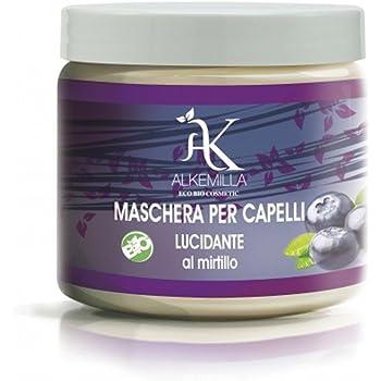 Maschera Capelli Lucidante al Mirtillo 200 ml - Alkemilla