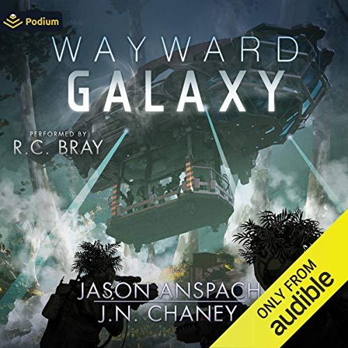 Page de couverture de Wayward Galaxy