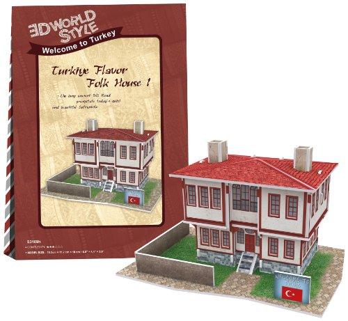 3D puzzle en trois dimensions 26 pi?ce style 3D World Series House1 W3109h (japon importation)