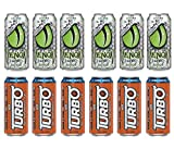 LUV BOX- variety Energy drink 16 oz. pack of 12 , VENOM LOW CALORIE CITRUS ENERGY DRINK , NOS ENERGY TURBO CANS .#N
