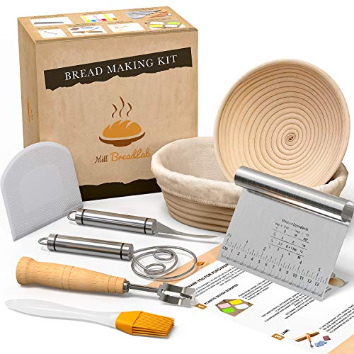 Bread Proofing Basket With Baking Tools