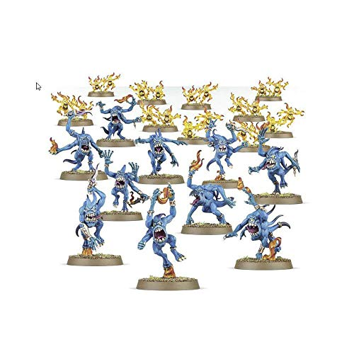 "Games Workshop 99129915029"" Warhammer Age of Sigmar Blue and Brimstone Horrors Action Figure"
