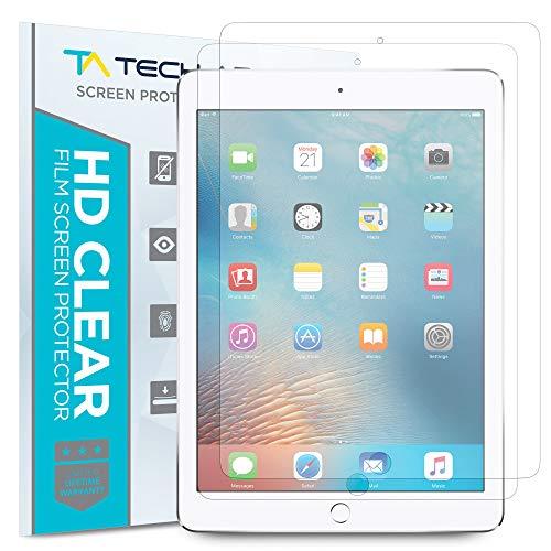 Tech Armor Anti-Glare Film Screen Protector Designed for Apple iPad Mini 5 (2019), iPad Mini 4 [Not Glass] - Case-Friendly, Full Coverage, Scratch Resistance [2-Pack]