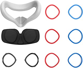 ZHINTE Easy Install Silicone Protecting Glasses Portable Replacement Headsets Lens Anti-Scratch Ring Durable For Oculus