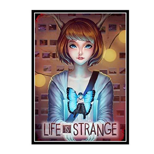 Swarouskll Life Is Strange The Storm Game Wall Art Poster lienzo pintura decoración del hogar imágenes impresas en lienzo -50X70cm sin marco 1 Uds