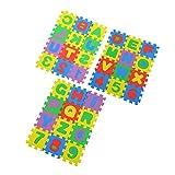 YiGo Colorido Kid Puzzle Juguete Educativo A-z Letras del Alfabeto Numeral Estera De La Espuma