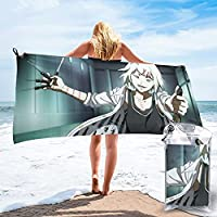 東京喰種 速乾タオル ビーチタオル 軽量 な屋外旅行水泳毛布 ベビー用品ホームバスタオル ハンドタオル クイックドライ高吸収性多目的使用バスタオル女性用男性