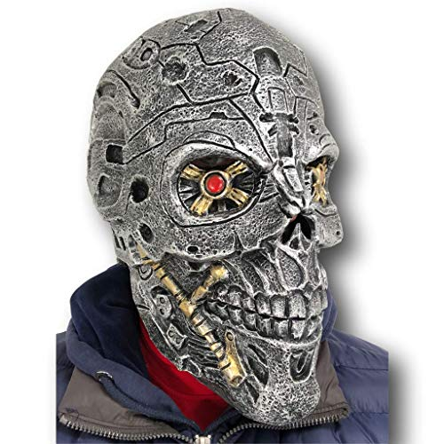 Rubber Johnnies TM Terminator Masque Latex Arnold Schwarzenegger Film Déguisement Fête