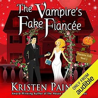 The Vampire's Fake Fiancée audiobook cover art