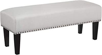 Signature Design by Ashley - Beauland Contemporary Accent Bench - White