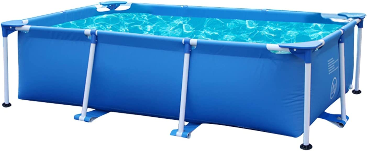 YOT Swimming Pool Framed Max 51% OFF Free Shipping Cheap Bargain Gift Rectangle Ab Frame Metal Family Outdoor