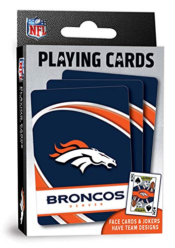 NFL Denver Broncos Playing Cards
