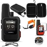 Garmin inReach Mini GPS (Black) with Accessories Bundle