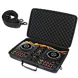Khanka Funda rígida de transporte para Pioneer DJ DDJ-200 Smart DJ Controlador y cables (solo la caja)